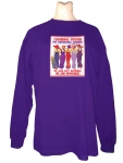 Stand Proud RHS Supporting member Long Sleeve Purple T-shirt