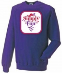 Simply Fun RHS Purple sweatshirt