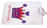 Red Hat Society Bag Tag artwork #S10