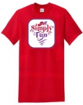Simply Fun RHS 2015 Design RED T-shirt