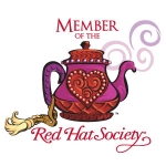 Red Hat Society badge artwork #S12