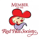Red Hat Society badge artwork #S23