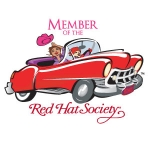 Red Hat Society badge artwork #S8